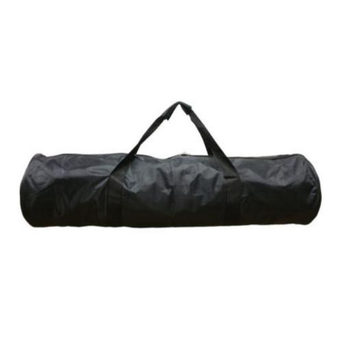 Bolsa larga redonda negra