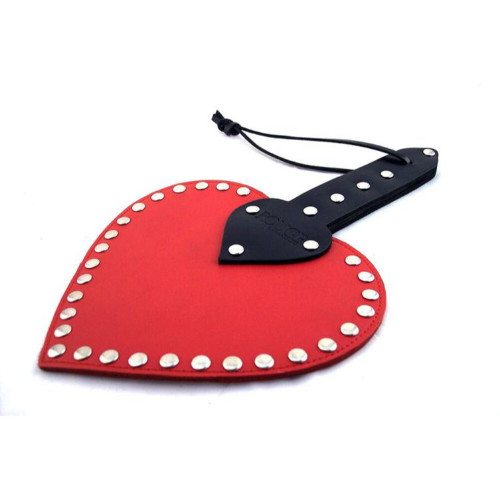 Heart paddle rojo