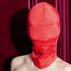 Capucha cabeza completa color Rojo