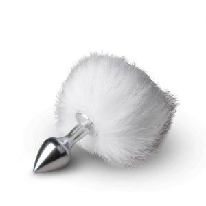 Plug cola de conejo color Blanco
