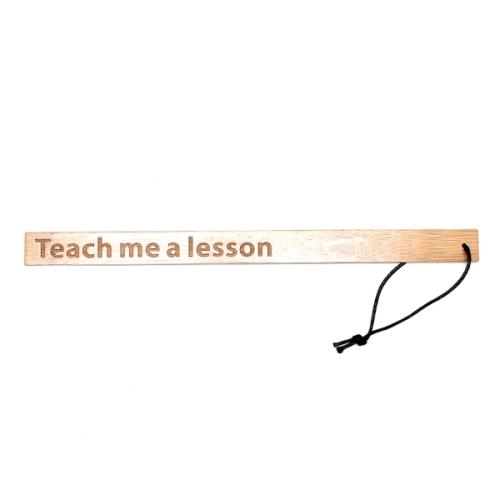 Regla de bambú – Teach me a lesson (1)