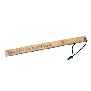 Regla de bambú - Teach me a lesson