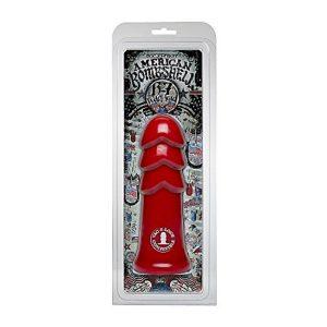 American Bombshell plug anal B7 Warhead rojo