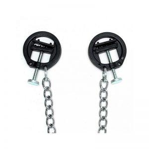 Pinzas de tornillo con cadena